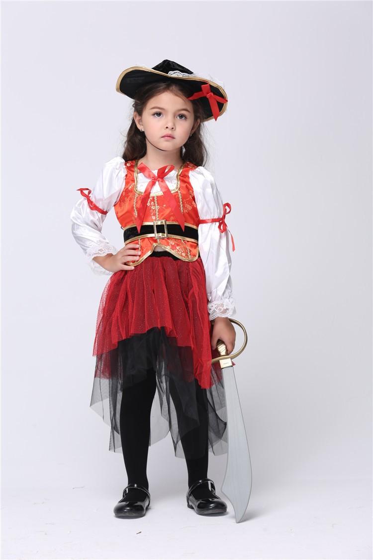girls princess sea pirate costume kids halloween costumes for girls