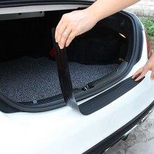 Auto Gummi Hinten Schutz Stoßstange Schutz Trim Abdeckung Auto Aufkleber Platte für Renault Sceni C1 2 C3 Modus Duster Logan sandero
