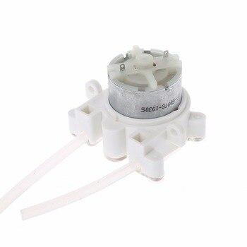 6V DC DIY Peristaltic Pump Peristaltic Dosage Head Aquarium Lab Chemicals Liquids Dosage Additives