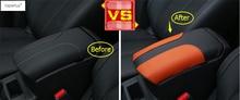 Интимные аксессуары для Nissan X-Trail X Trail T32 Rogue 2014-2018 подлокотник коробка для хранения защита литья крышка комплект отделка