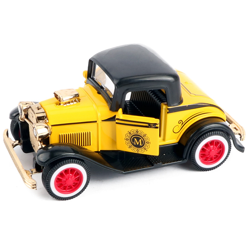 Mini oldtimer 1:43 in toy vehicle pull back classic Vintage car ...