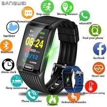 BANGWEI 2019 новые умные часы для мужчин для женщин фитнес трекер сердечного ритма приборы для измерения артериального давления мониторы Smartwatch спортивные часы для ios android