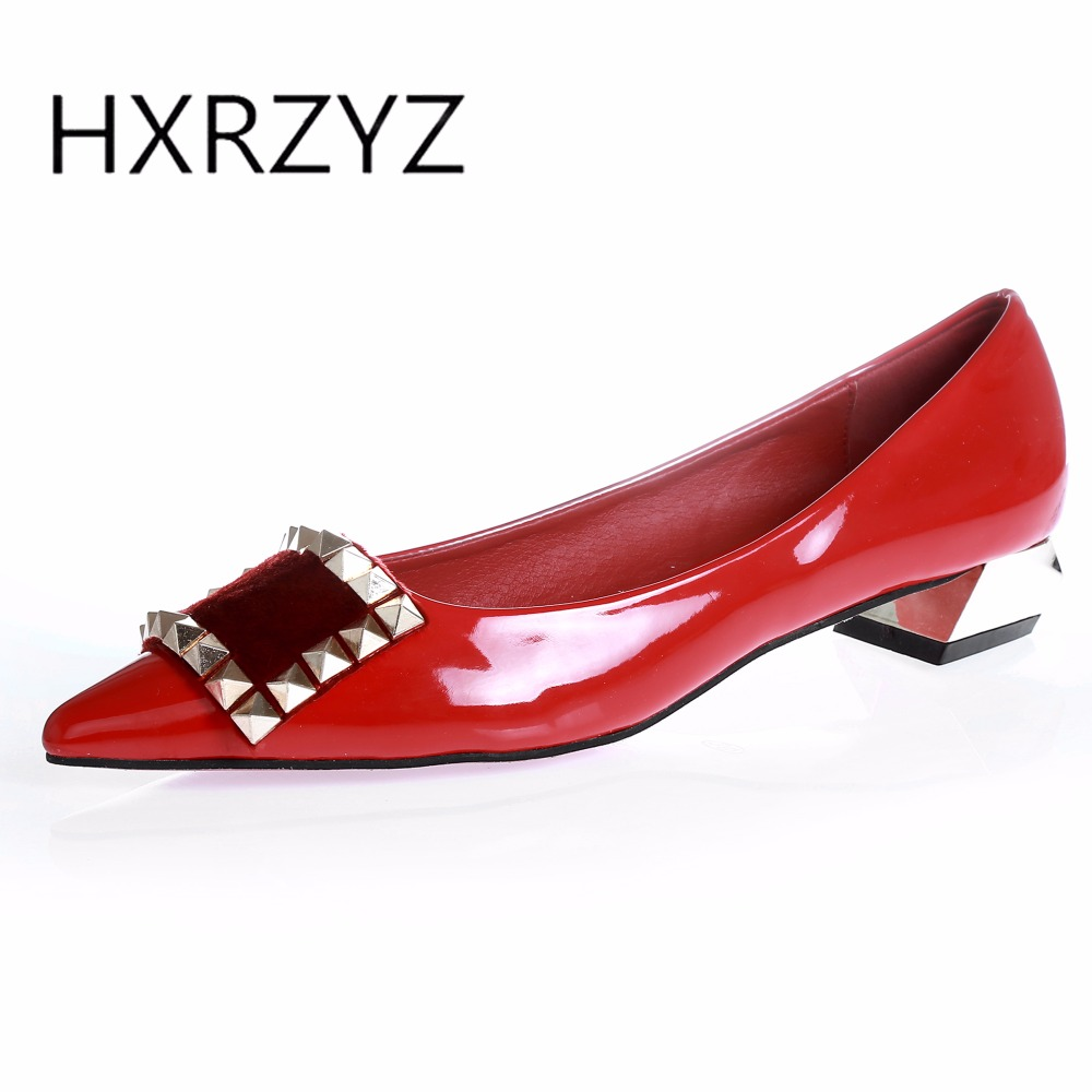 HXRZYZ women pumps red bottom high heels ladies sexy dress shoes spring/autumn fashion pointed toe patent leather women shoes siketu 2017 free shipping spring and autumn women shoes fashion sex high heels shoes red wedding shoes pumps g107