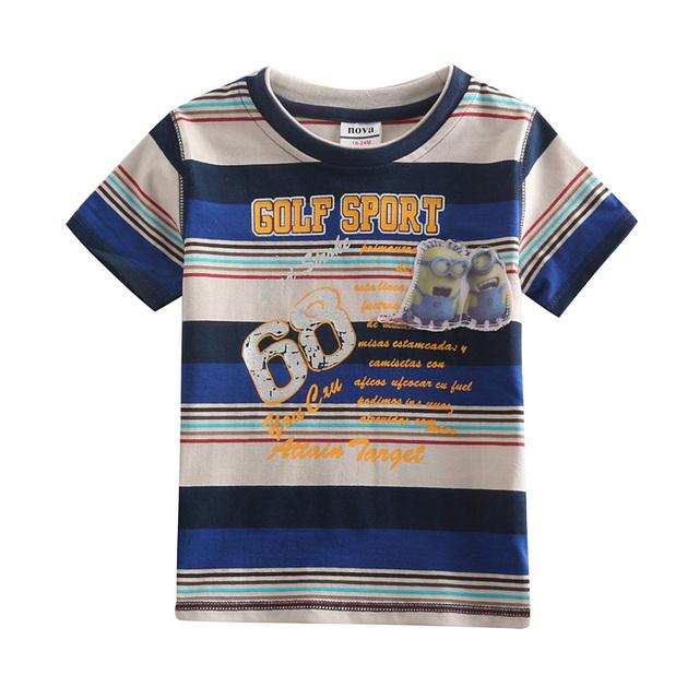 Azul marinho listrado meninos roupas, camisa de marca crianças t, meninos crianças camisas de t, roupas para meninos, crianças t-shirt do bebê pesca