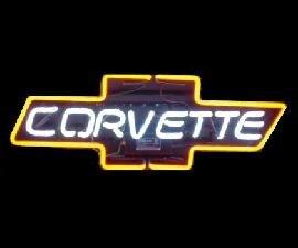 CORVETTE Neon Light Sign