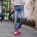 Male  jeans slim feet stretch pants  Mens Skinny Jeans  brand new stylish  PU984