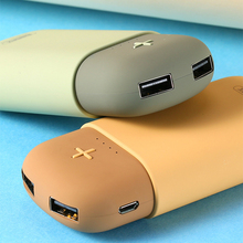 Remax Original 5000mah Power Bank 2 USB Charger 18650 External Battery 5V/2.1A Mobile Charger Poverbank Backup For Xiomi Huawei