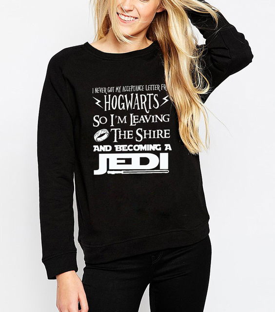 Star Wars Women Sweatshirt – Becoming Jedi