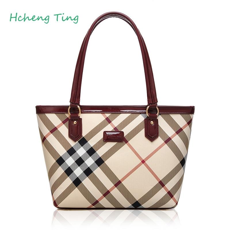 ФОТО High Quality Women Messenger Bags Fashion Stereotypes Bag Brand Women Shoulder Bag Lattice Handbag Bags For Women Sac A Main