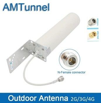 4g antena 3G antena 4g LTE antena repetidora 12dBi 4G ao ar livre antena com N fêmea para celluar signal booster repeater