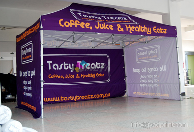 Custom Print Outdoor Advertising Folding Popup Canopy / Custom Printed Trade Show Tent Marquee 4X6m with : printed tent - memphite.com