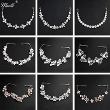 Miallo Classic Crystal Wedding Hair Vine Bridal Hair