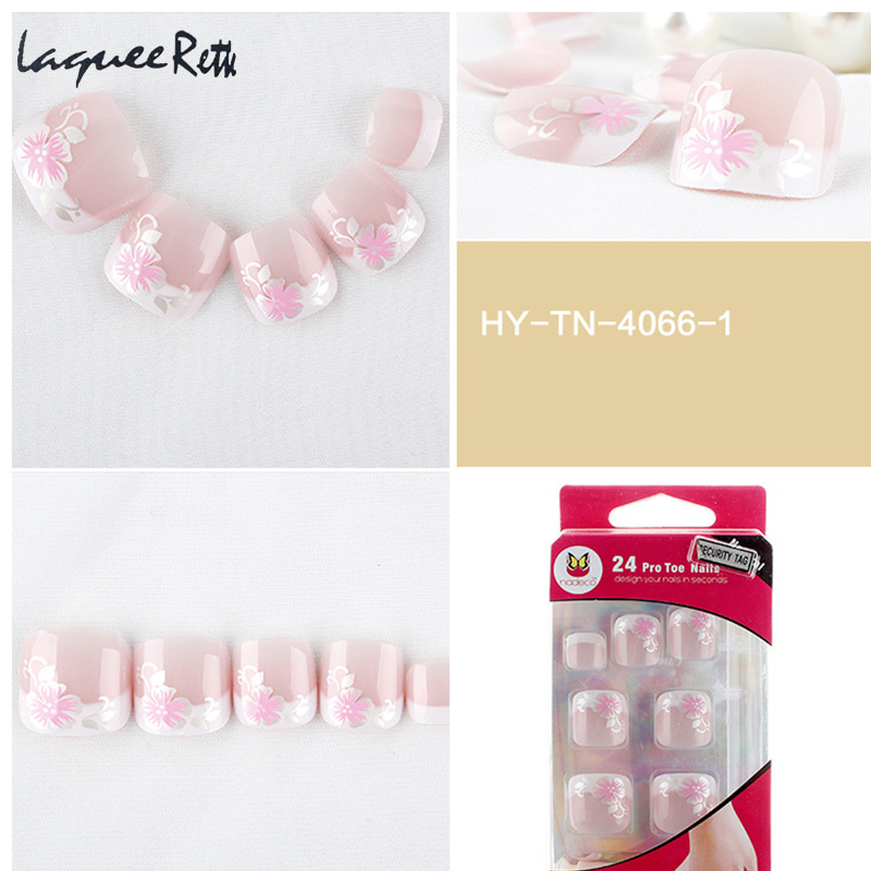 Get This Professional French Fake Nails Toe Tips french artificial ...