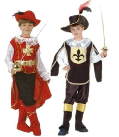 Cosplay Table Shows Masquerade, Boy King Costume, Children Knight Prince, Costume Halloween.