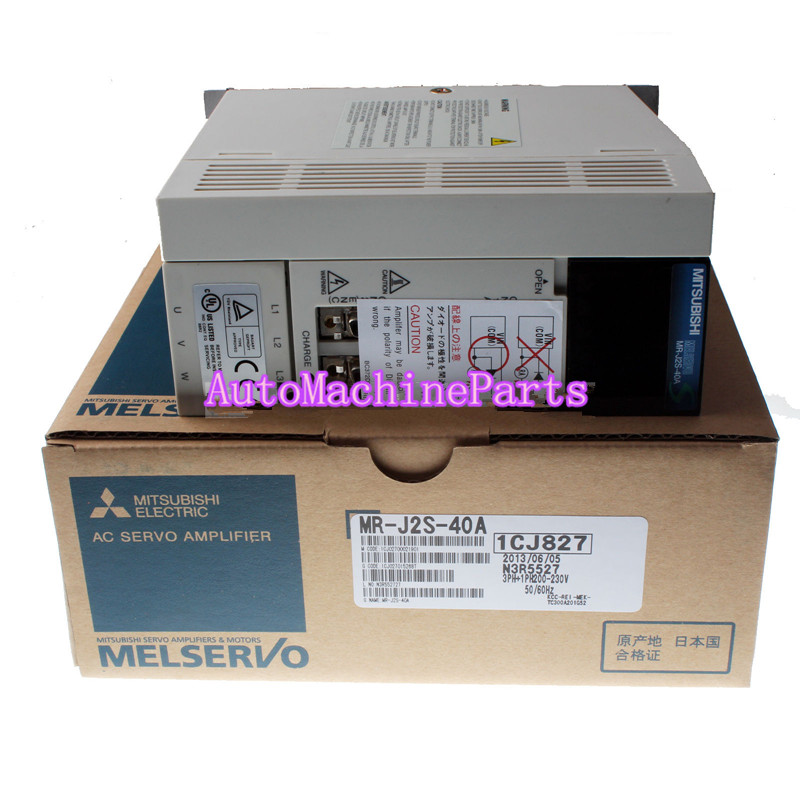 New original AC Servo Amplifier MR-J2S-40A PLC For Mitsubishi New original AC Servo Amplifier MR-J2S-40A PLC For Mitsubishi