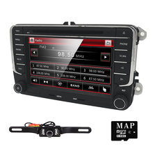 7 дюймов 2 DIN автомобиля DVD GPS Радио для Volkswagen VW Golf 5 6 Touran Passat Sharan Jetta Поло Tiguan 2din DVD навигации