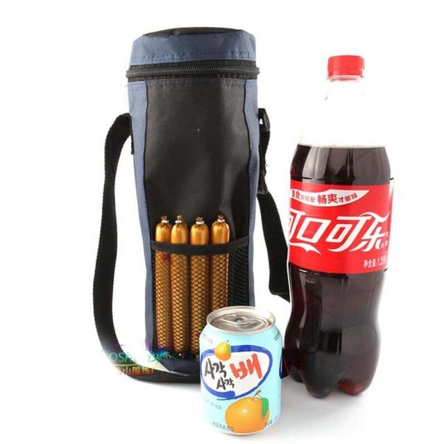 Baby Thermal Feeding Bottle Warmers Mummy Tote Bag Hang Stroller Pouch Winter Holder Hanging Cooler Bottle Bag