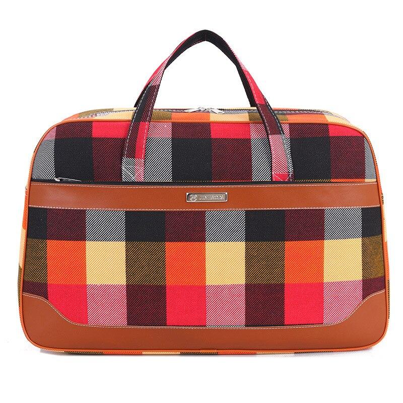 da lona mulheres viajar sacolas Feature 1 : Duffel Bag, sac