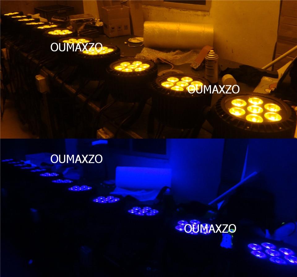 do palco Par 64, RGBAW + UV