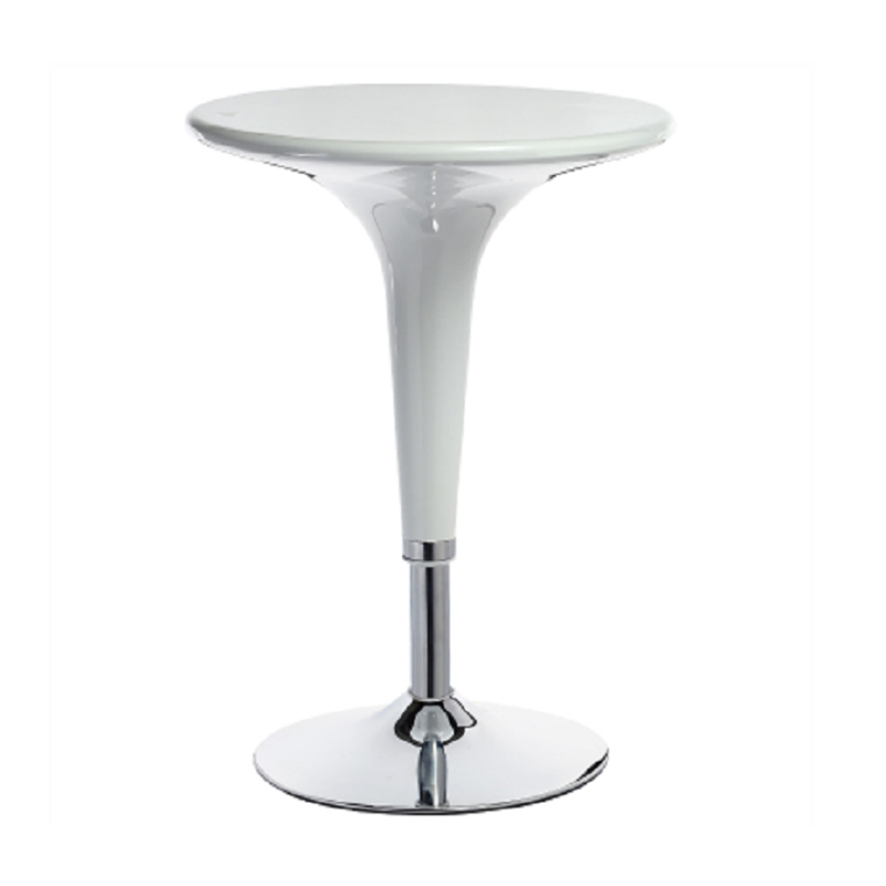 Sporting New Bar Table Adjusting Height Gas Lift Abs Plastic Round Coffee Table Restaurant Meeting Room Negotiation Table Pleasant In After-Taste