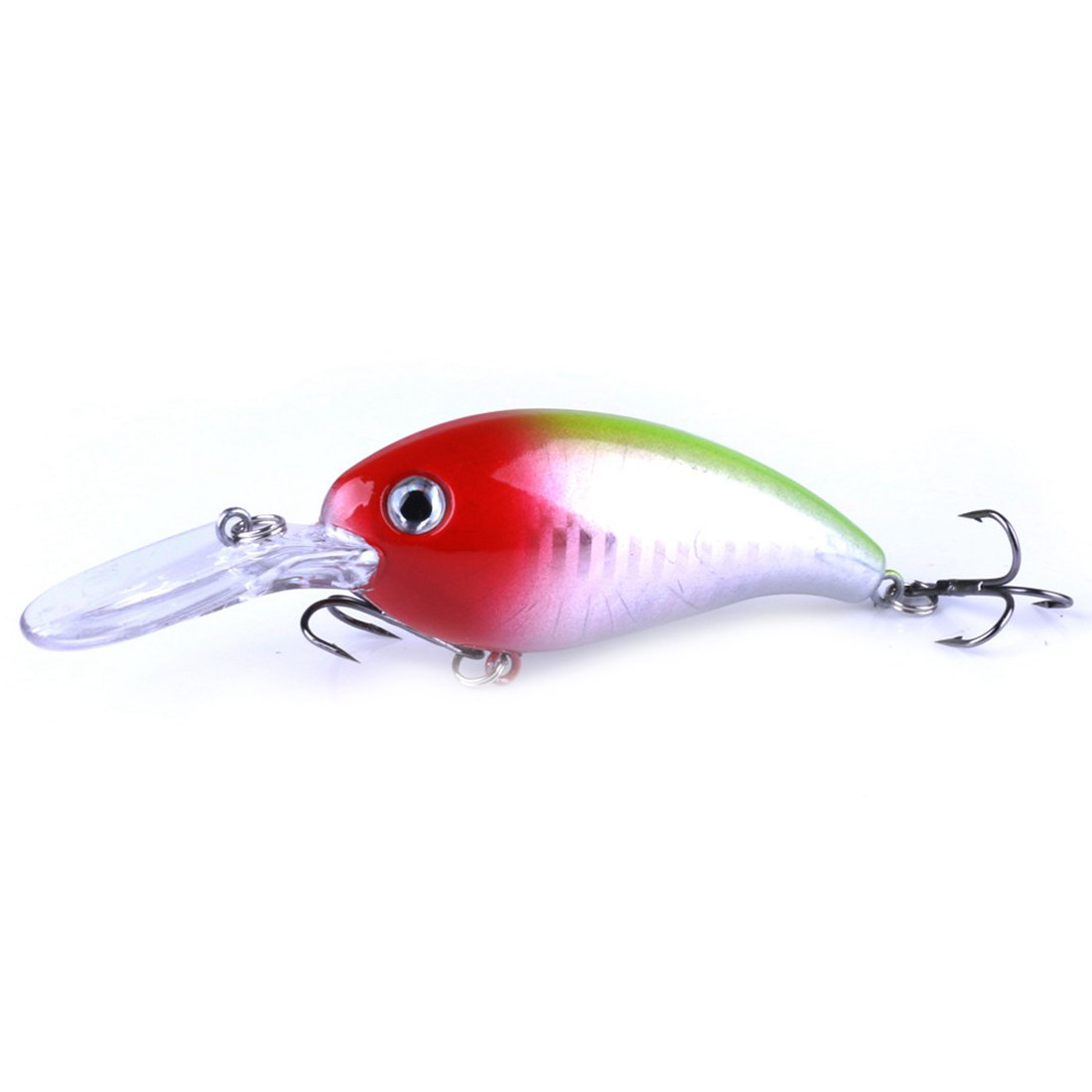 New HENG JIA Sea fishing road Asian rock bait 10cm / 14g bait Luya plastic bait, Red Silver