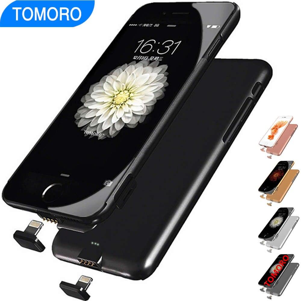 imágenes para 6 Plus Cargador de Batería de Reserva para el iphone 6 S Plus 6/S iPhone6 Cubierta de la Caja de La Batería Banco de la Energía Móvil 6 6 Plus 6 SPlus Extra