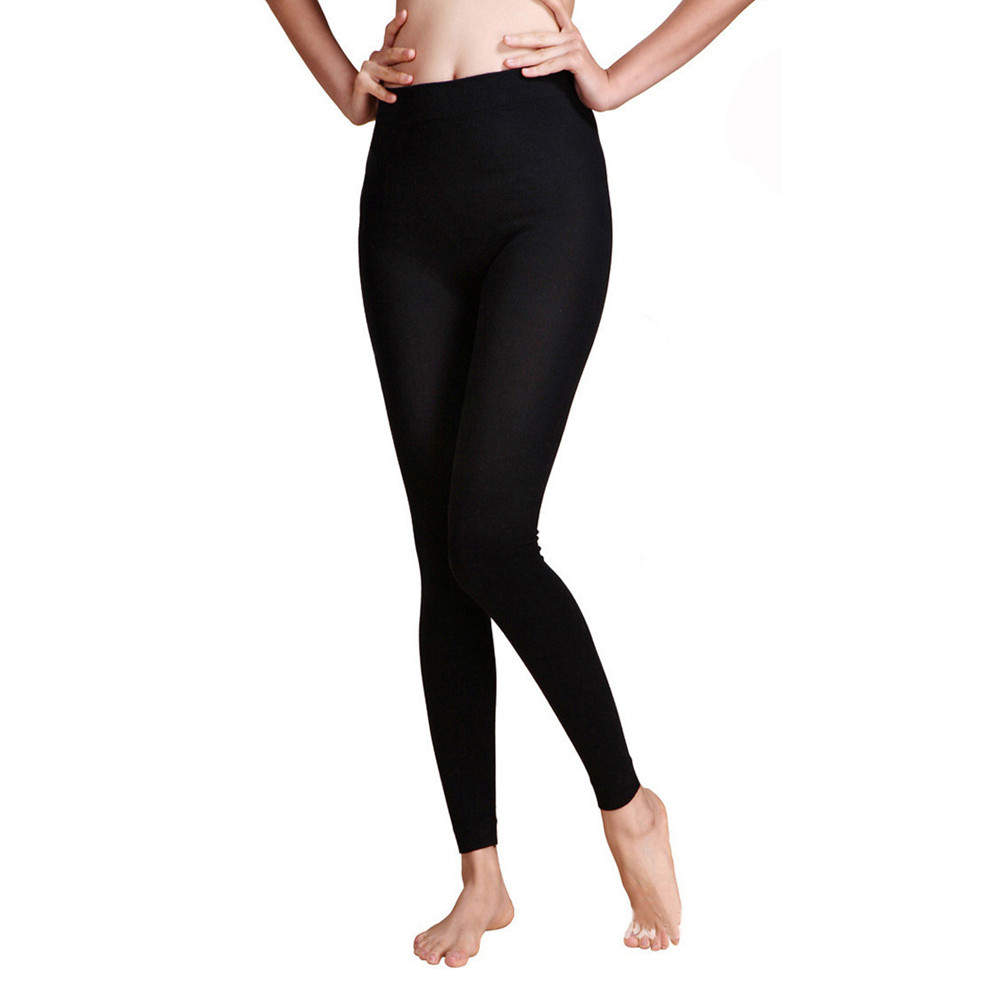 Women Yoga Leggings Fitness Seamless Tummy Yoga Pants High Waist Workout Trousers Slim Gym Sportswear Plus Size#15