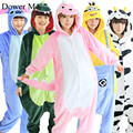 Dower Me Onesies Pajamas Adults Flannel Anime Pajama Cartoon Unisex Cosplay Animal Pajamas Women Sleep Lounge
