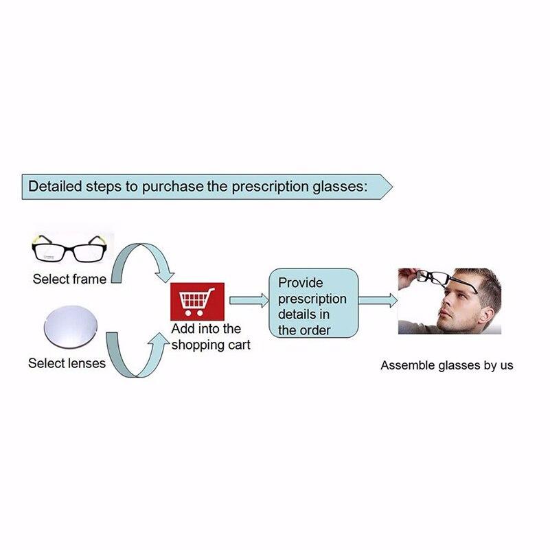 Kirka 1.74 lentille de Prescription d'index pour les yeux lentilles optiques de lentille de Vision simple pour la myopie ou les lunettes de lecture - 3