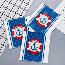 20pcs Sail ocean sea soft healthy decoupage napkin for Kids birthday party decoration 33*33cm