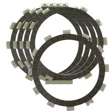 Motorcycle Engines Clutch Friction Plates For Yamaha XV250 Route 66 88-90 Virago 250 95-07 V Star 08-10 11-12 Motorbike
