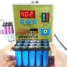 SUKKO LED Pulse Batterie punktschweißgerät 787A + Punktschweißmaschine Micro-computer 18650 micro schweißen mit LED-licht + Batterieklemme