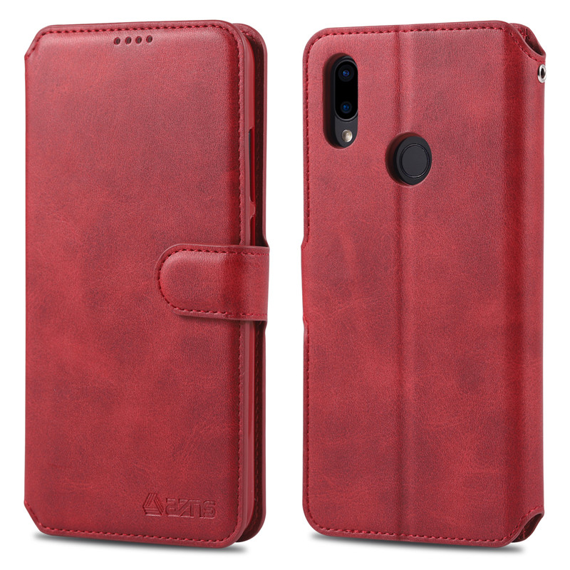 K20 Note 5 6 7 Pro Accessories Couples Fashion Flip Wallet Leather Case For Xiaomi Redmi 6 6A 7 5plus Casing Card Cover Funda