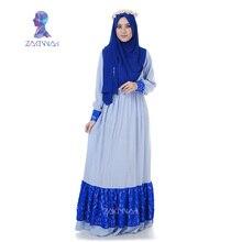 A004 Maxi Dress dubai Muslim abaya choir robes burqa for women clothes new Women Dress turkish islamic clothing robe musulmane