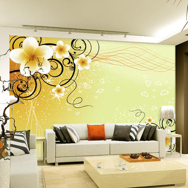Aliexpresscom Buy Romantic Chinese Wallpaper Flowers Modern