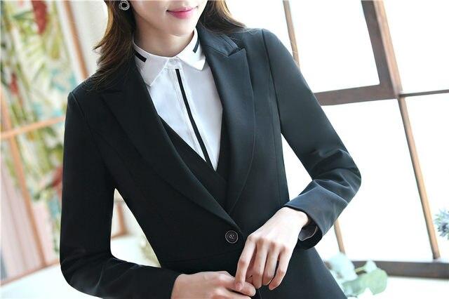 Conceptions bureau uniformes pour les femmes jupe costumes avec