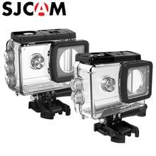 Original SJCAM SJ4000 Waterproof Case Habitação Underwater 30 m para SJ Cam SJ5000X Elite SJ5000 WiFi 4 K Câmera de Ação acessórios