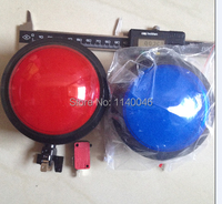 2PCS 100mm Large Game Buttons Illuminated Pushbutton Switch Reset Button