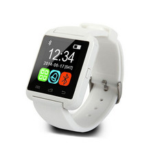 Lowest Price Bluetooth White Wrist Smart Watch U8 for Android Phone Smartphones font b SmartWatch b