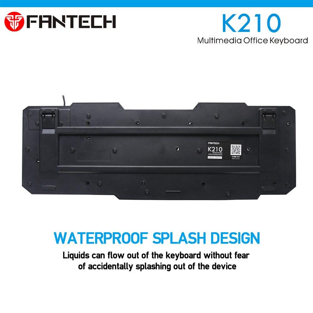 FANTECH K210 Multimedia Office Keyboad 8