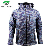 2018 Winter Spring MOTOBOY motorcycle riding jacket ,men waterproof motorbike coat personality sports Two piece suit clothes