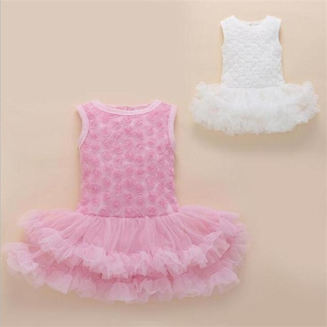 Party & Birthday Dress For 1-2 years Baby Girl Shoes+Gown 4