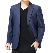 WAEOLSA Man Smart Casual Blazer Wine Red Navy Blue Jacket Suits Men Slim Fit Blazers Spring Autumn Suit Coat Blazer Masculino XL цена