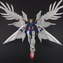 Japaness Original Gundam MG 1/100 XXXG-00W0 WING GUNDAM ZERO ENDLESS WALTZ NINJAR SEED Mobile Suit Kids Toys With Holder