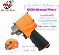 Industrial Wilin Pneumatic Tools 1/2 Inch Mini Composite Air Impact Wrench 1300NM Big Torque Twim Hammer