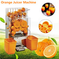 Automatic Electric Orange Juicer Machine Commercial Orange Juice Extractor Citrus Juicer Machine