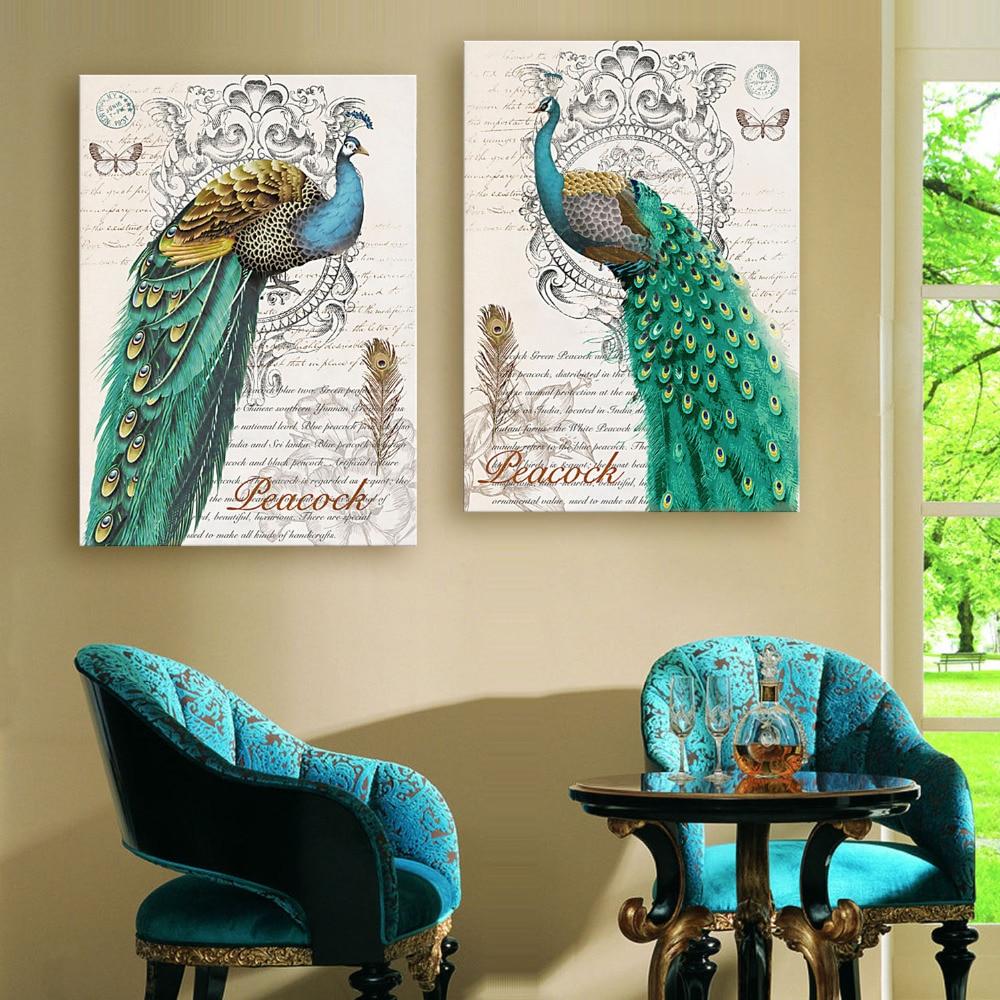 e home oil painting green font b pea b font decoration painting home font b decor