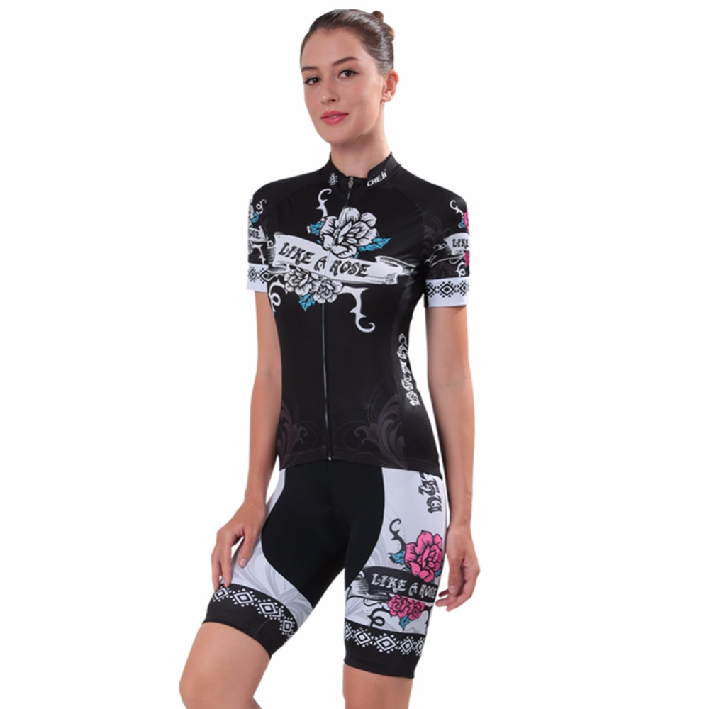 2017 Pro Women Cycling Jersey Sets MTB Road Bike Wear Bicycle Ropa Ciclismo Cycling Clothing bicicleta feminino Breathable