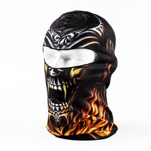 2017 Hot Sale Unisex 3d Animal Head Hat Ski Balaclava Skull Face Mask Outdoor Sports Bicycle Cycling Motorcycle Masks Bb20