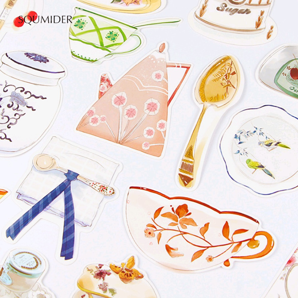 SQUMIDER 30pcs Creative Hand-painted Postcard Greeting Card Christmas Teacher's Day Letter Paper Bookmark Gift 1lot=1 Pack=30pcs